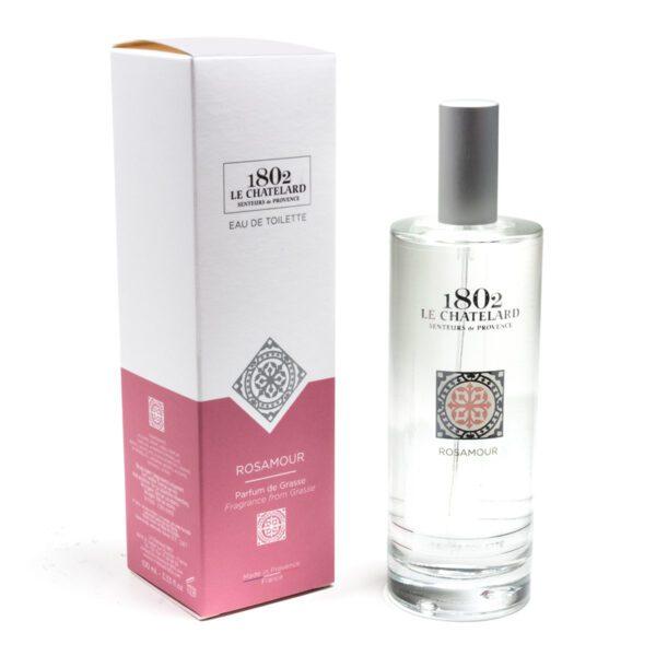 Rose Natural Eau de toilette Perfume Le Chatelard