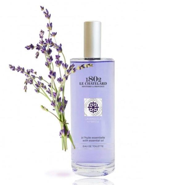 lavender-eau-de-toilette Natural Relaxing Perfume Le Chatelard Provence