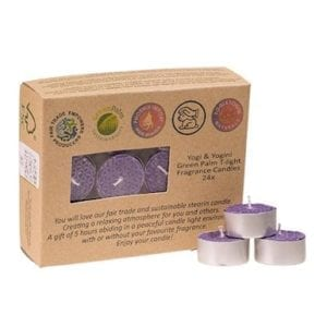 lavender Fair Trade -tea-lights Scented candles