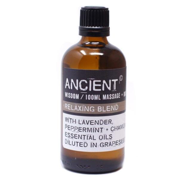 Relaxing Massage Bath Oils Essential Oil Blends