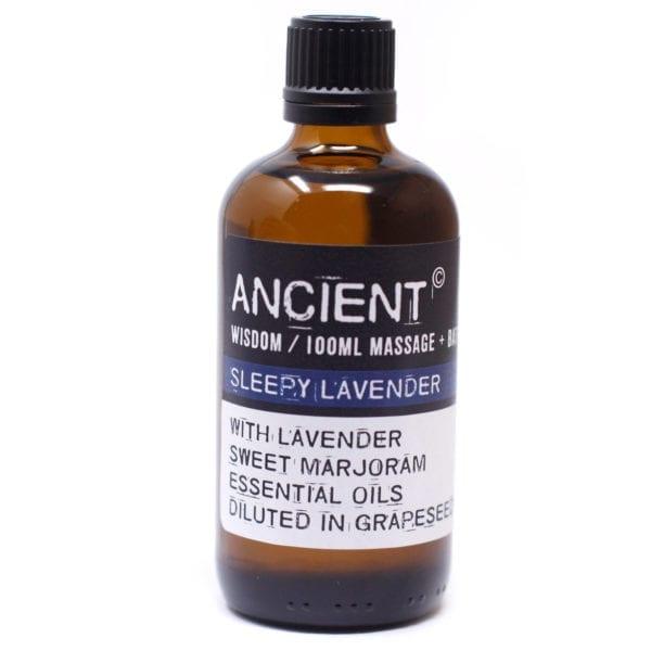 Lavender and Marjoram Massage Bath Sleepy Lavender Essential oils Blend