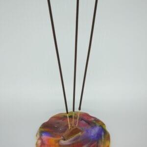 Handmade-wooden-Incense-burner