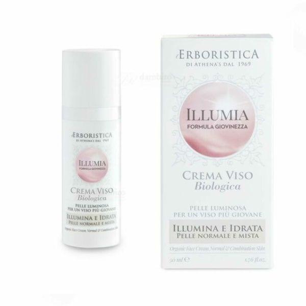 Illumia Organic Face Cream for Normal & Combination Skin