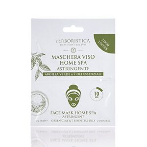 Astringent Face Mask Green Clay Essential Oils