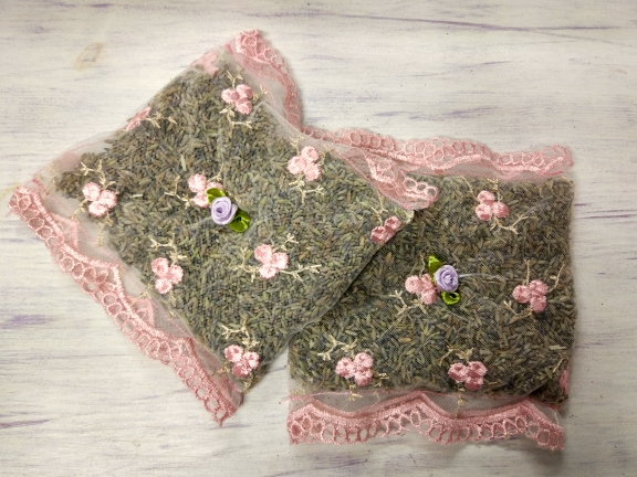 Dry French Lavender Pillow Sachet Bag