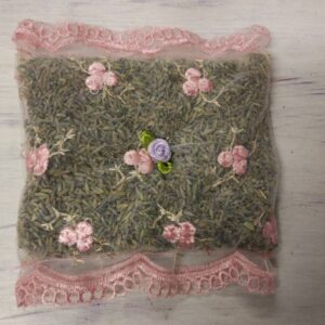 Dry French Lavender Pillow Sachet Bag