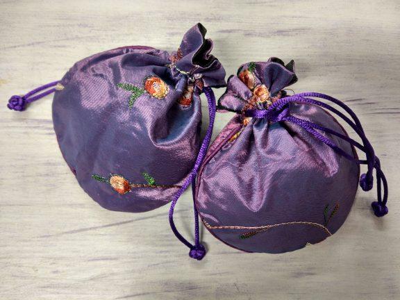Dry French Lavender Silky Sachet Bag