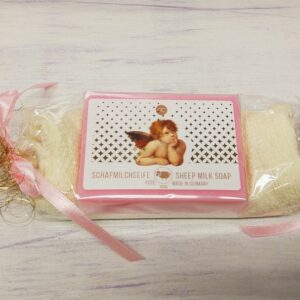 Natural Rose Soap with Sheep Milk