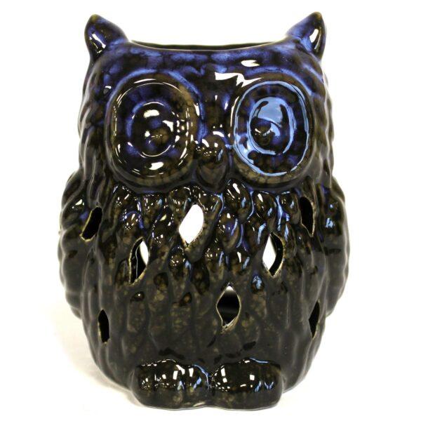 Owl-ceramic-oil-burner