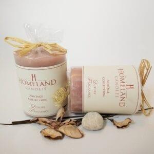 Gold-Sparkle-Sandalwood-Musk Aromatherapy Candle
