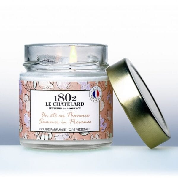 Le-Chatelard-natural-candle-summer-in-Provence